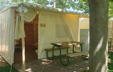 יצור אוהלי גלמפינג תפירה איכותית לפי צורכי הלקוח